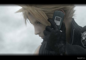 Cloud on his Panasonic :D