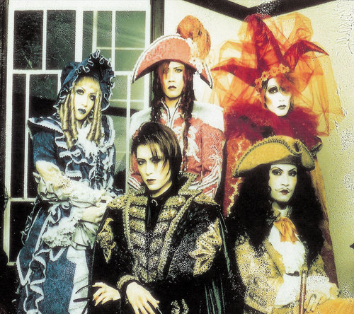 "Visual Kei band ""Malice Mizer"", circa 1997"